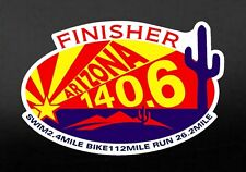 "2019,2020 any year Ironman Arizona Finisher Magnet 4""x 6"" Car, refrigerator"
