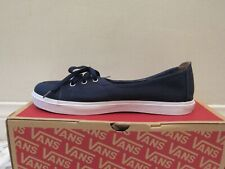 VANS Palisades SF Dress Surf Siders Canvas Shoes - Dress Blue/Waves - Womens 8