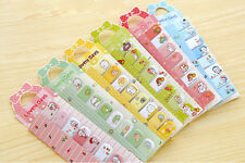 2 x 120 Pcs Cute Hamster Bunny Adhesive Sticky Index Notes Memo Pad Label Kids