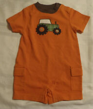 Gymboree Little Tractor Co Summer Outfit NWT 3-6 Month Defect Untreated spot