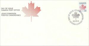 Canada 30c Maple Leaf  definitive FDC cover (199)