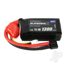 Radient LiPo Battery 3S 1300mAh 11.1V 20C Deans HCT T-style Connector Plug