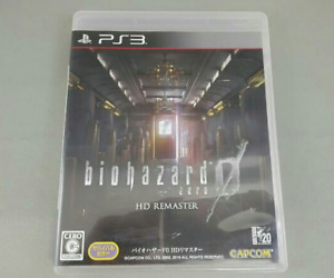 PS3 Resident Evil Biohazard Zero 0 HD Remaster