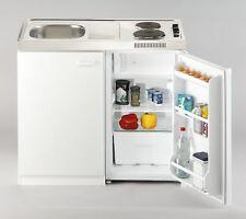 Mini Cuisine Salle à Manger Bloc Unitaire Pantrykueche 100 cm Blanc