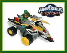 Power Rangers Mystic Force _ Green Mystic Dragon Tracker / ATV with Ranger