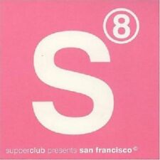 Supperclub 8 presents San Francisco  2CDs Top Lounge Electro Grooves