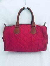 J Crew Pink Quilted Fabric Bag EUC (Rare!)
