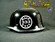 333 HALF EVIL Helmet decals (1 Pair)