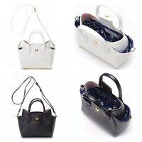 Women Sailor Moon 20th Samantha Vega Luna Cat Leather Handbag Purse Shoulder Bag