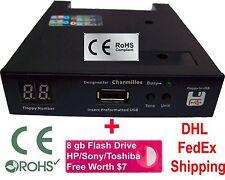 Floppy Drive to USB Converter for Charmilles Robofil 190 , 440 CC (1.44mb )