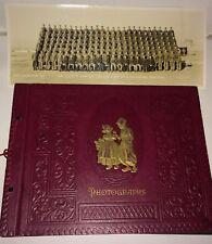 Vintage World War II Military Photo Album 32nd Battalion Fort Sill OK 277 Items