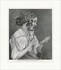 Die Tänzerin Grete Wiesenthal Theater Mode Perlen Frauen Berlin F Original 00775