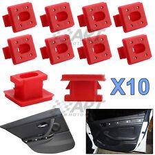 10 X Clips de plástico para molduras interiores compatibles con Bmw E46 E65 E83