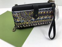 Sakroots Smartphone Wristlet Crossbody Wallet One World Multi Large Phone NWT C