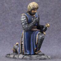1/32 Figure Tin Toy Soldiers Painted Medieval Knight Miniature 54mm Metal