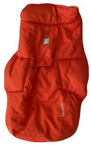 Ruffwear Quinzee Insulated Winter Dog Jacket Sockeye Red Size Small