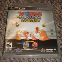Worms: The Revolution Collection (Sony PlayStation 3, 2013)
