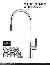Armando Vicario  Luz-1 Kitchen Sink Mixer Goose neck Pull-out Tap Abey Chrome