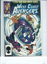 West Coast Avengers #3 (Nov 1984, Marvel) VF