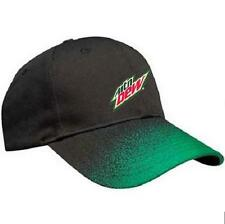 Mtn Dew Speckle Peak Accent Cap - BLACK - green - Made by KC Caps  *NEW