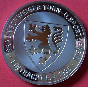 EINTRACHT BRAUNSCHWEIG RARITÄT - Medaille 120 Jahre ZUM ERSTAUSGABEPREIS - OVP