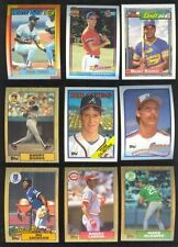 7 Topps Complete Baseball Sets 1986 1987 1988 1989 1990 1991 1992 MINT FREE S&H