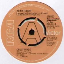"JOHN STEWART ~ CHILLY WINDS / DURANGO ~ 1973 UK ""DEMO"" 7"" SINGLE ~ RCA 2414"
