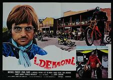 FOTOBUSTA 1, I DEMONI The Dirt Gang JERRY JAMESON, MOTOCROSS, POSTER AFFICHE