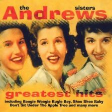 The Andrews Sisters ‎– Greatest Hits CD 2000 Going For A Song ‎– GFS285 NM