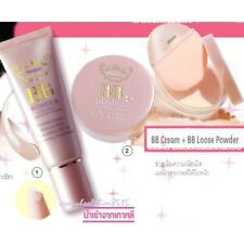 Duo BB Cream + BB Loose Powder SPF30 Foundation Long Wear Mistine Face Makeup