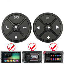2pcs Car Steering Wheel Kit Key Button Remote Control for DVD GPS Radio Player