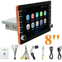 Android 9.1  8'' INCH Single 1DIN Car Stereo MP5 Radio Player GPS Navi Wifi