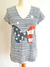 Oui Stars & Stripes T-Shirt. Size 12.