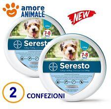 2 COLLARI - Seresto Bayer - Collare per cani piccoli fino 8 kg  Antiparassitario