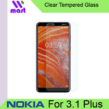 Clear Tempered Glass Screen Protector for Nokia 3.1 Plus