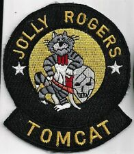 USN VF-103 PATCH  -  '.JOLLY ROGERS TOMCAT'                           FULL COLOR