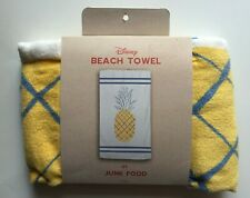 Brand New Disney Beach Towel 30 x 60 by Junk Food - Pineapple Yellow New w/Tags