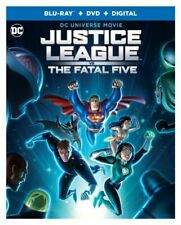 New listing Justice League vs. The Fatal Five [Blu-ray]