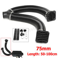 75mm Heater Pipe Ducting Y Branch Warm Air Outlet Vent For Diesel Heater Webasto