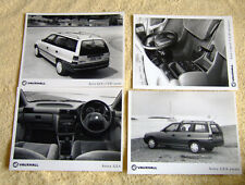 Vauxhall Astra Mk3 Press Photos x 4, 1991, GLS Models