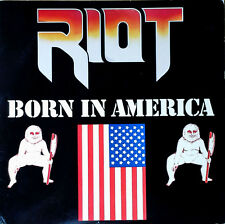 RIOT - BORN IN AMERICA - QUALITY LP - MADE IN CANADA