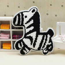 Embroidered Patch Sew on Hat Bag Badge Cartoon Zebra Towelling Kid Applique DIY