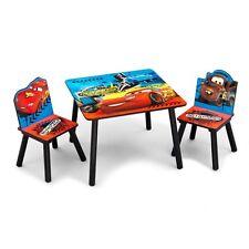 Kindermöbel Disney Cars Auto Tisch Stühle Set Tischset Holz Kindersitzgruppe