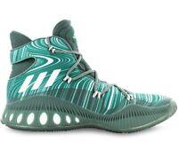 adidas Crazy Explosive Boost Herren Basketballschuhe B42423 Sportschuhe Grün NEU