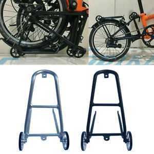 Aolly Rear Rack / EZ Easy Wheels for Brompton Bicycle.