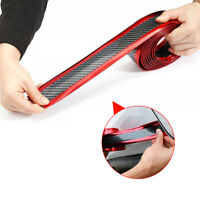 Car Body Door Sill Scuff Plate Pedal Protector Strips Trim Sticker Accessories
