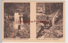 (88041) AK Heuscheuer, Góry Stołowe, Wasserfälle, vor 1945