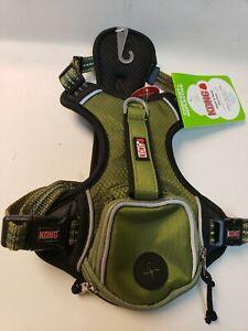 Kong Small Comfort + Reflective Green Waste Bag Harness