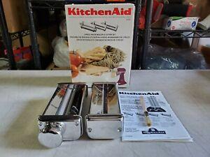 KitchenAid Pasta Roller & Spaghetti Cutter Attachment PLEASE READ DESCRIPTION