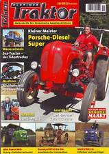 Oldtimer Traktor 10/13 Porsche Diesel Super/John Deere 940/Meili VBM 22/Rumely